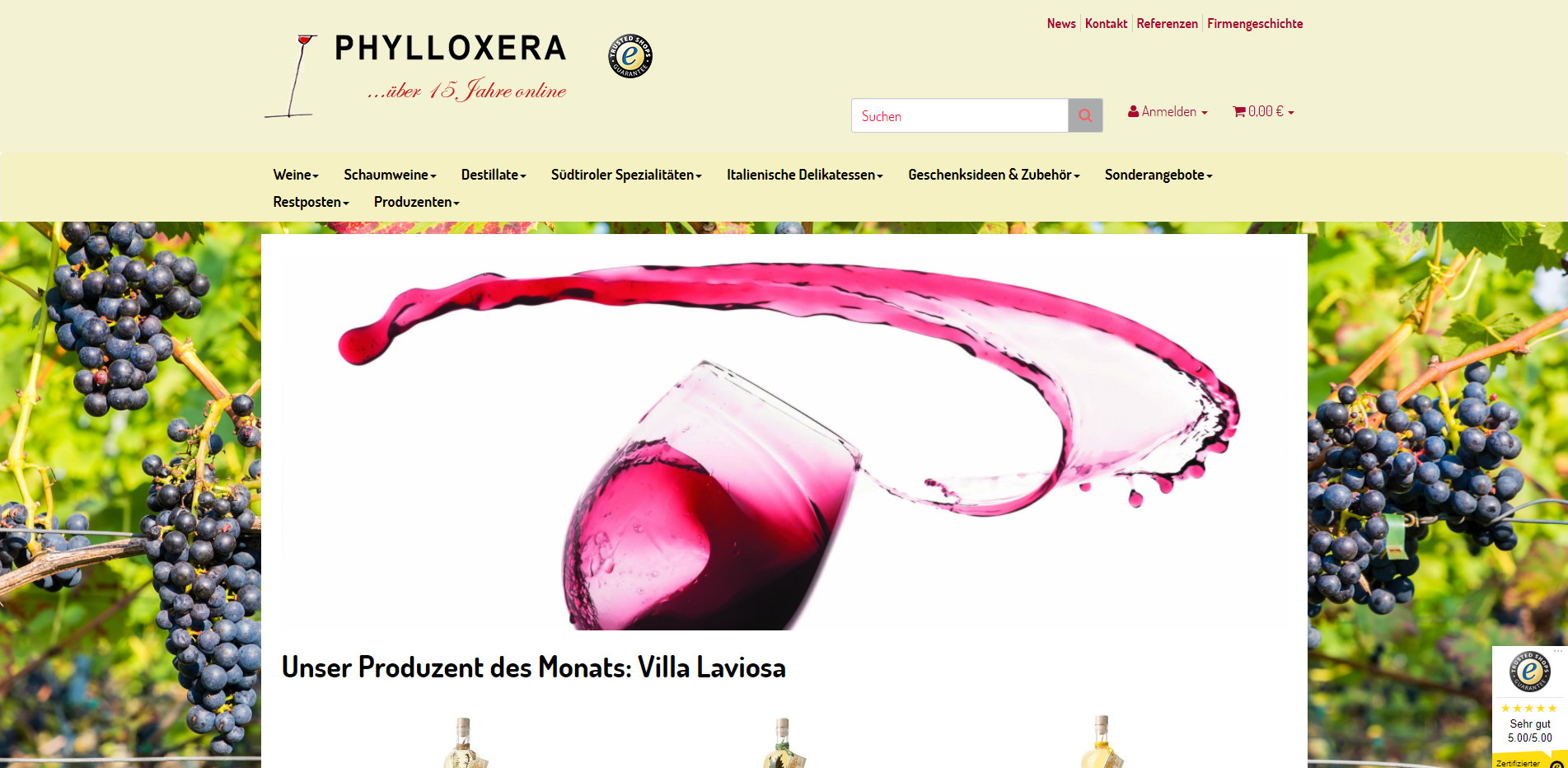 Weine Südtirol