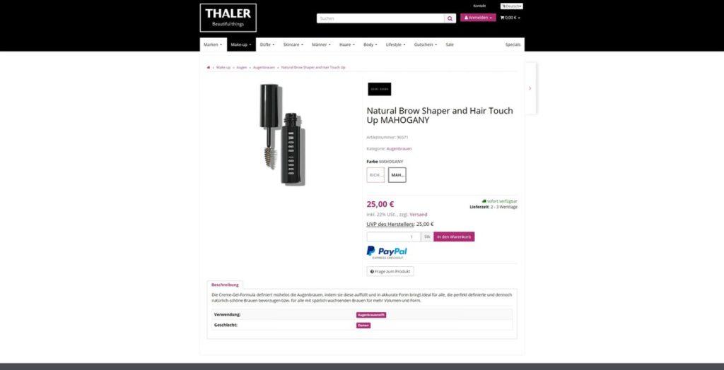 Thalershop Artikel