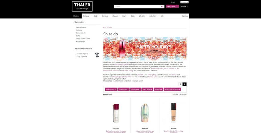 Thalershop Hersteller
