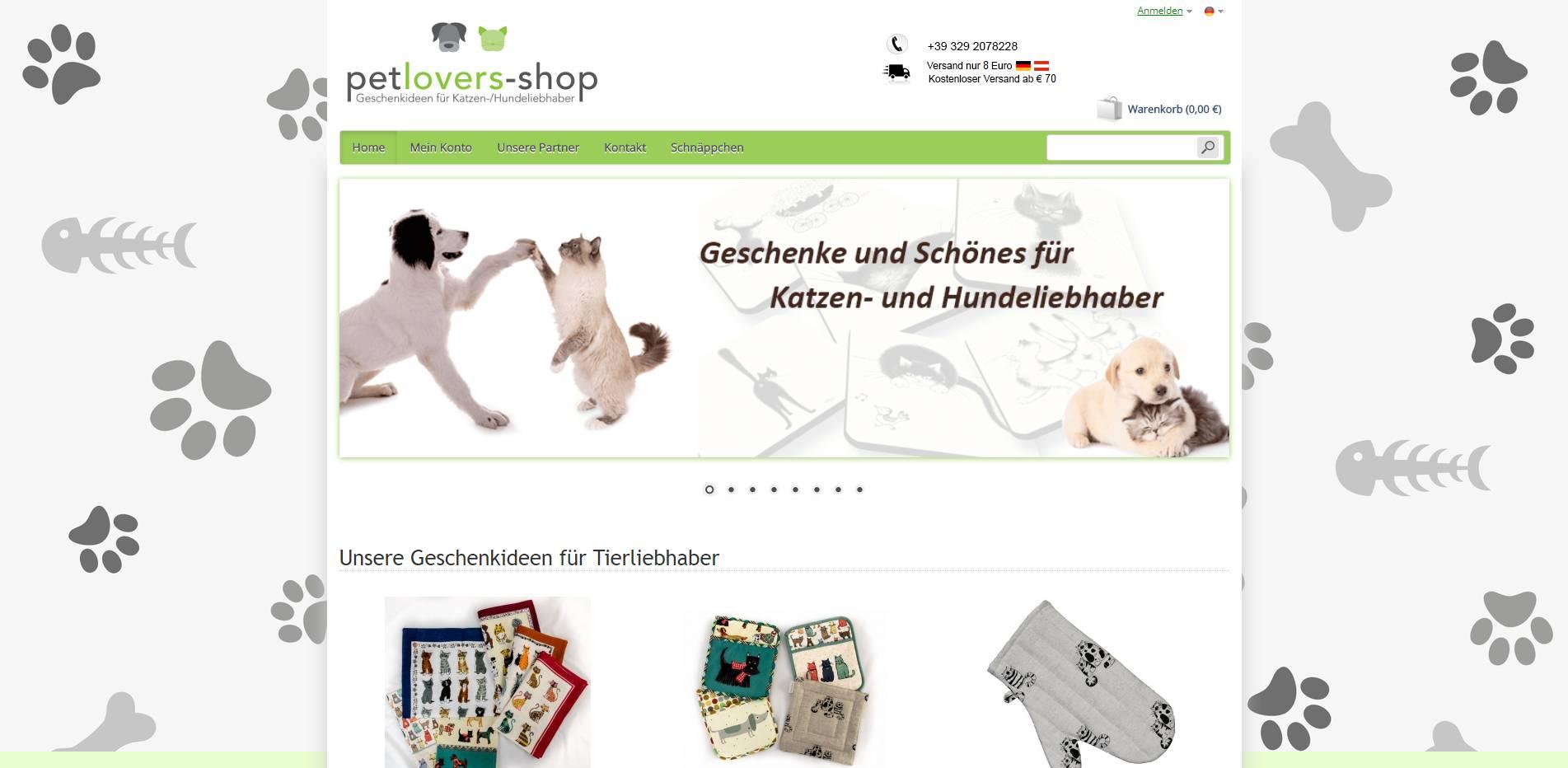 Petlovers Shop