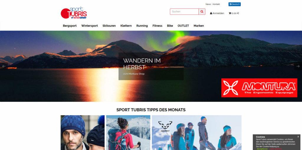www.sport-tubris.com Homepage