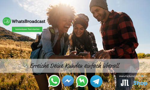 Messenger Marketing mit JTL