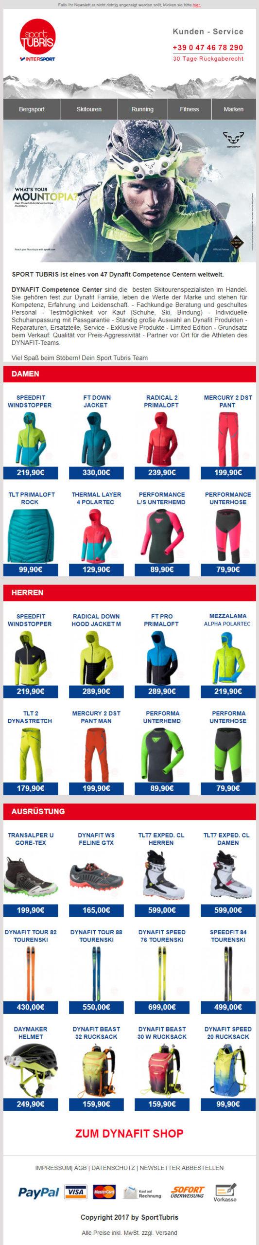 Sport-Tubris-Newsletter