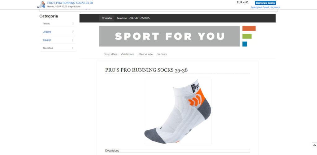 Sportforyou eBay Artikel