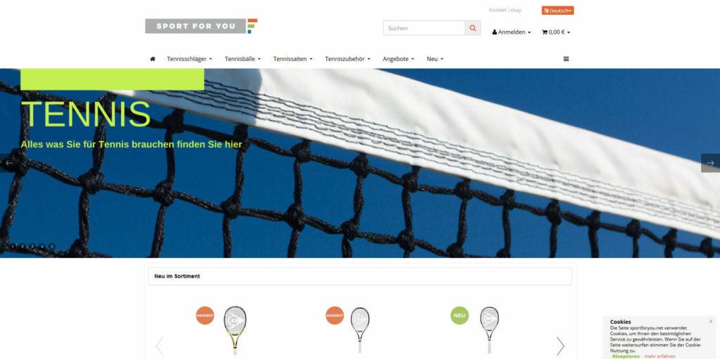 www.sportforyou.net Homepage