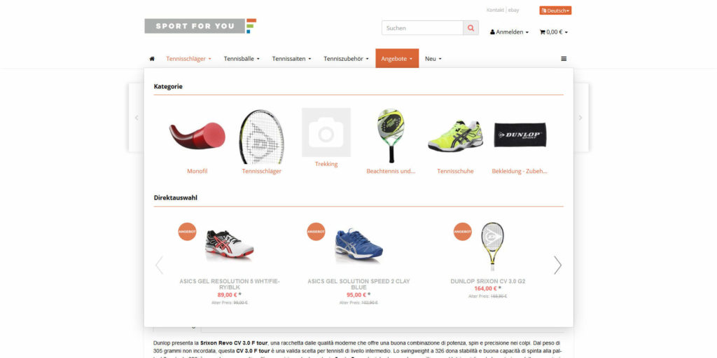 www.sportforyou.net Navigation