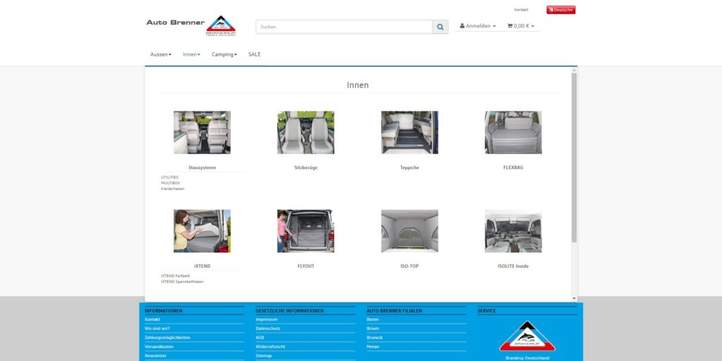 Auto Brenner Brandrup Navigation