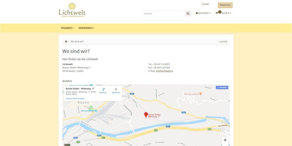 Lichtwelt GoogleMaps
