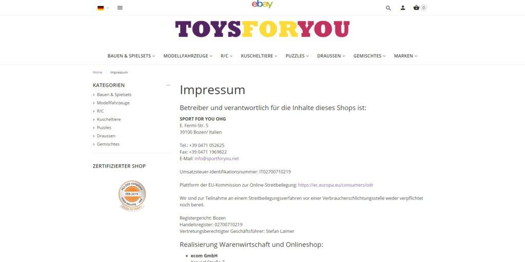 ToysForYou - CMS