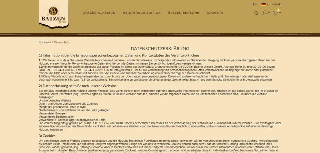 Batzenshop-CMS