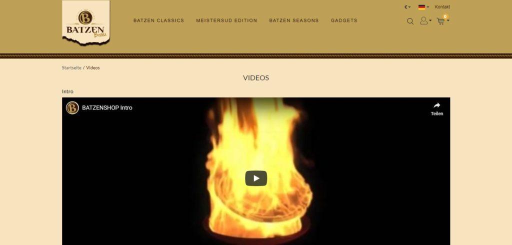 Batzenshop-Videos