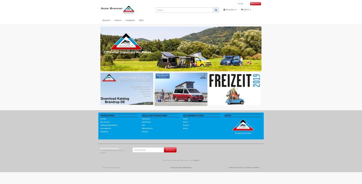 Auto Brenner Brandrup Homepage