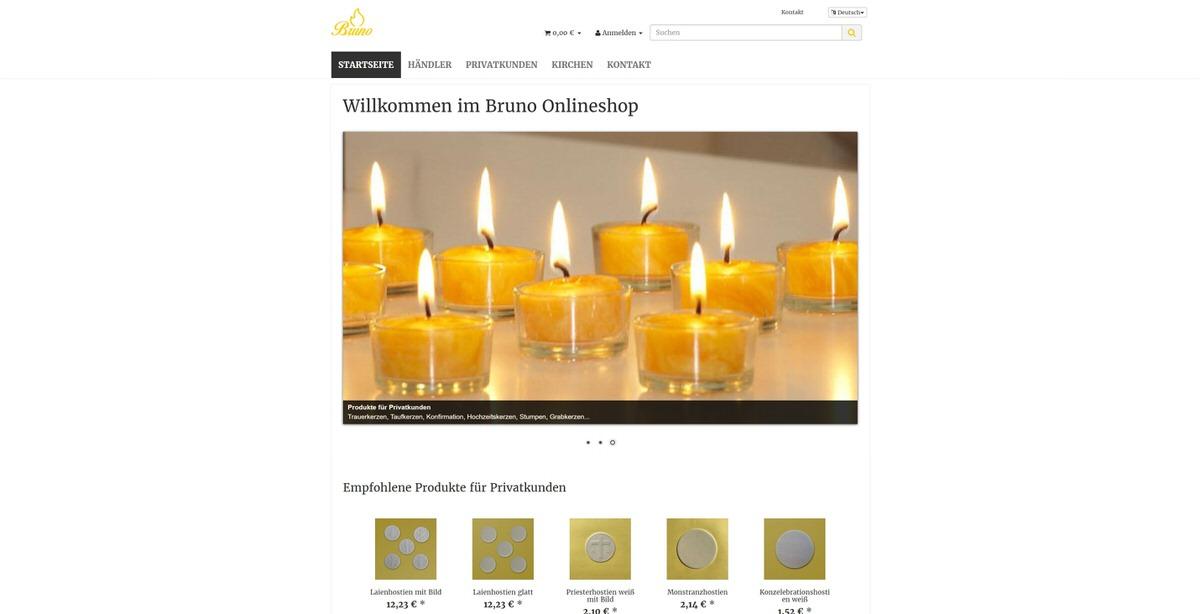 Bruno Kerzen Homepage