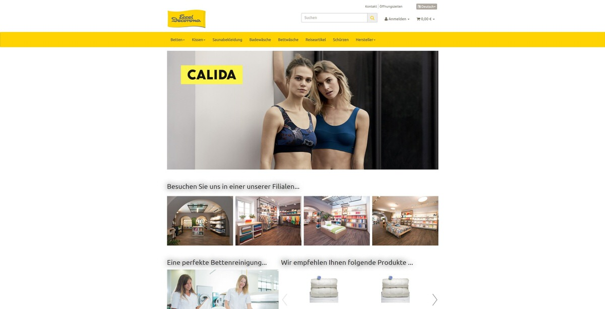 Eccel Homepage