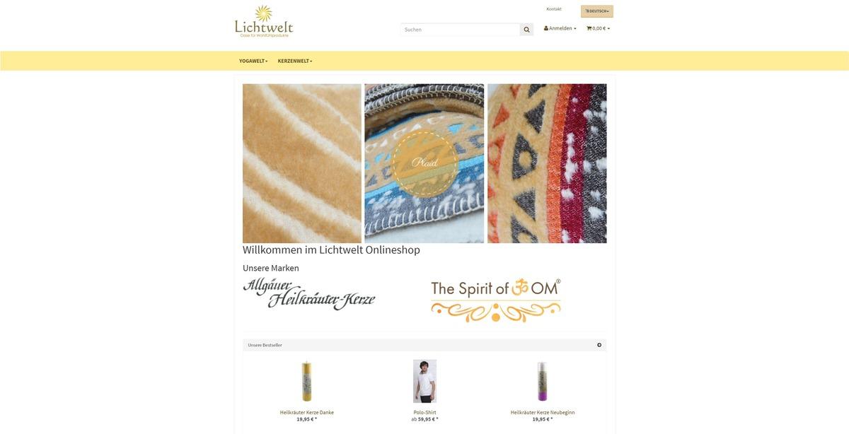 Lichtwelt Homepage