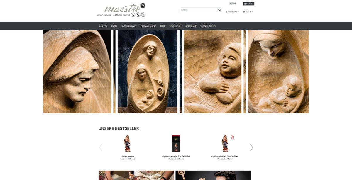 Maestro24 Homepage