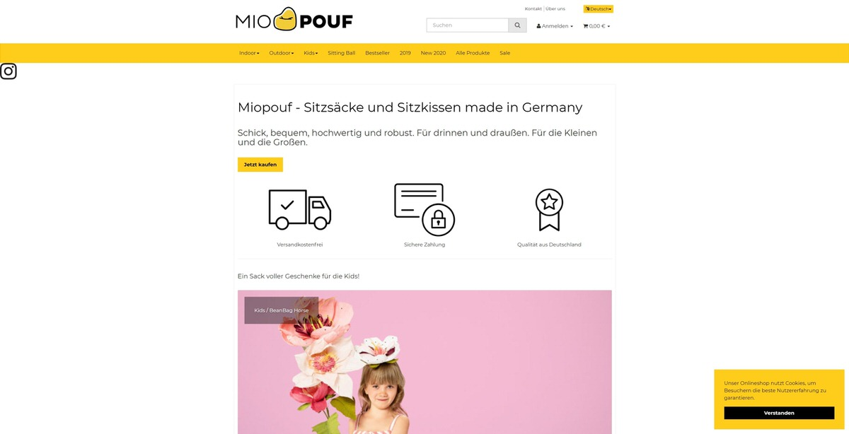 Miopouf Homepage