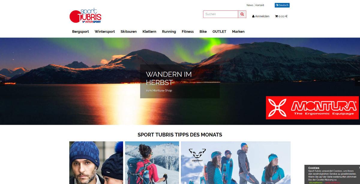 Sport Tubris Homepage
