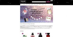 Thalershop Homepage