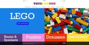 Toys For You Homepage