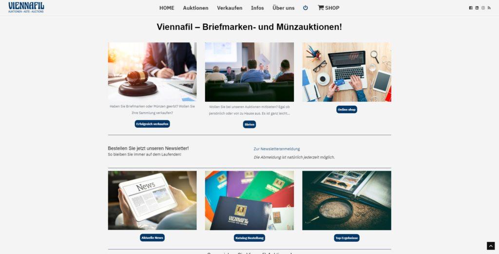 Viennafil Homepage