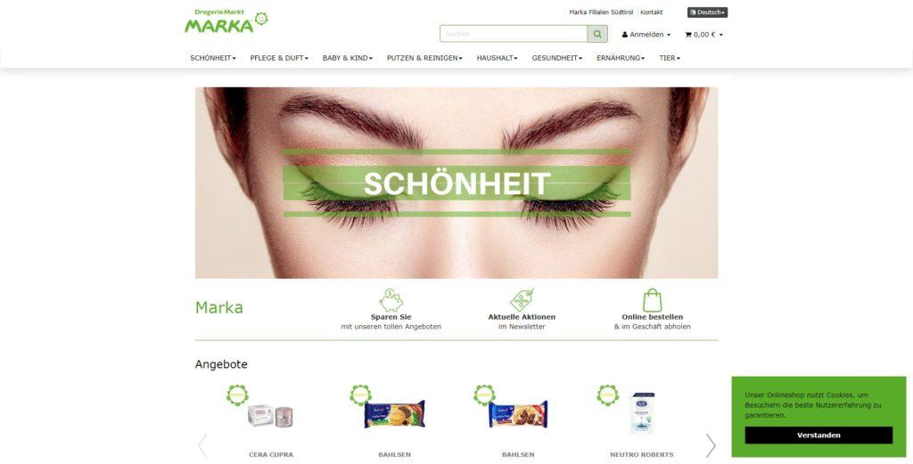 Marka Homepage