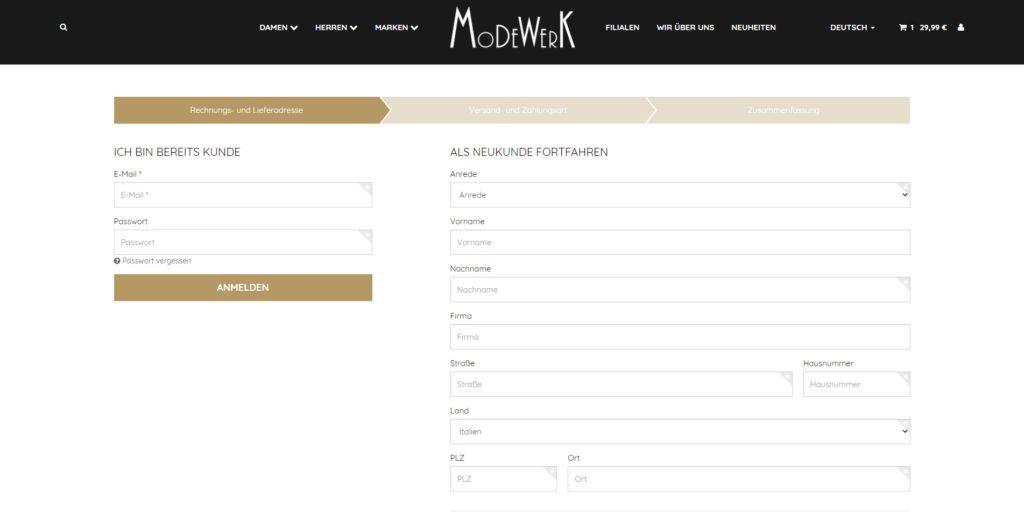 Modewerk_Registrierung