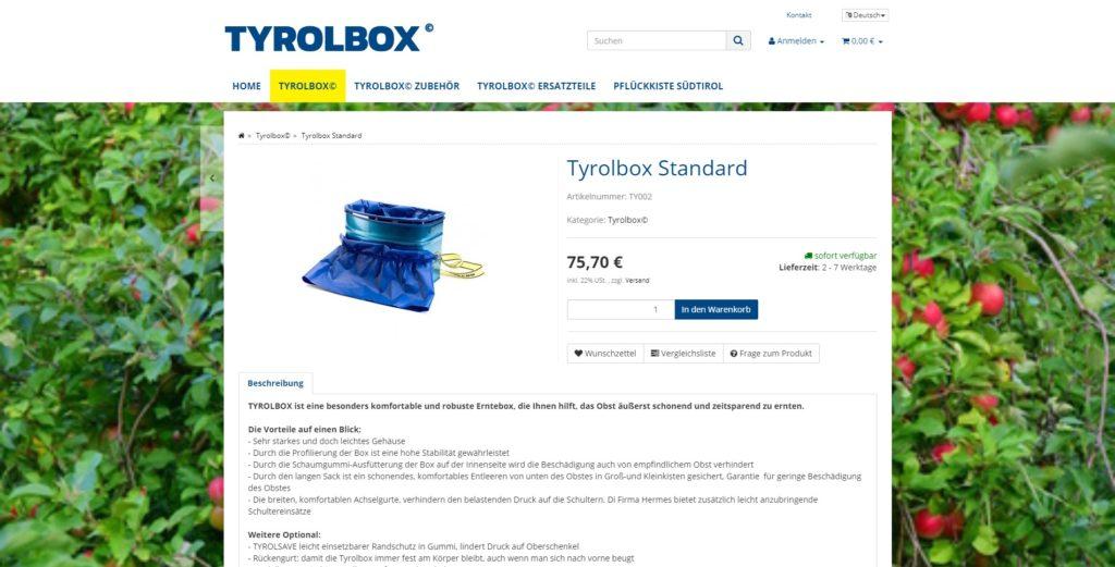 Tyrolbox Artikel