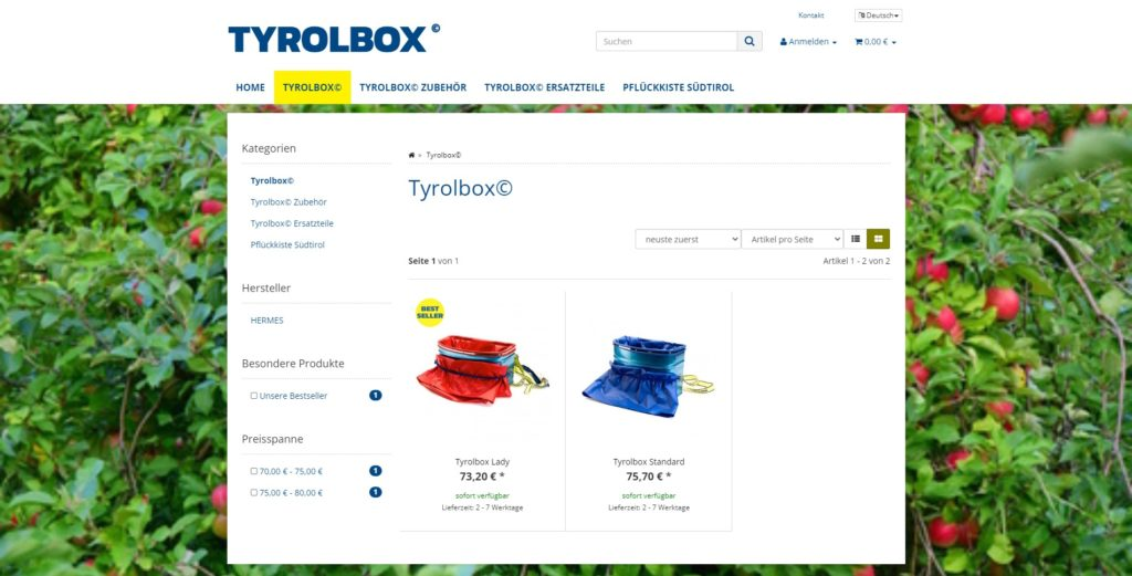 Tyrolbox_Kategorien
