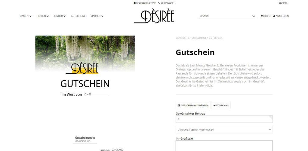 Desiree Gutschein