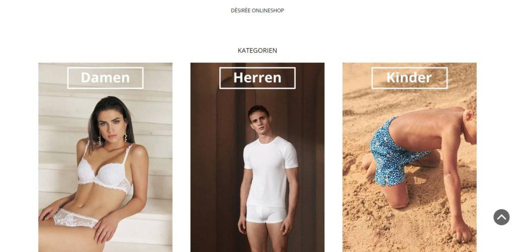 Desiree Homepage